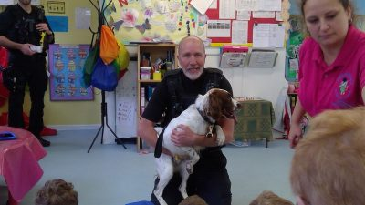 Visit from the Police Dogs!