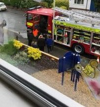Visit from the Fire Service!